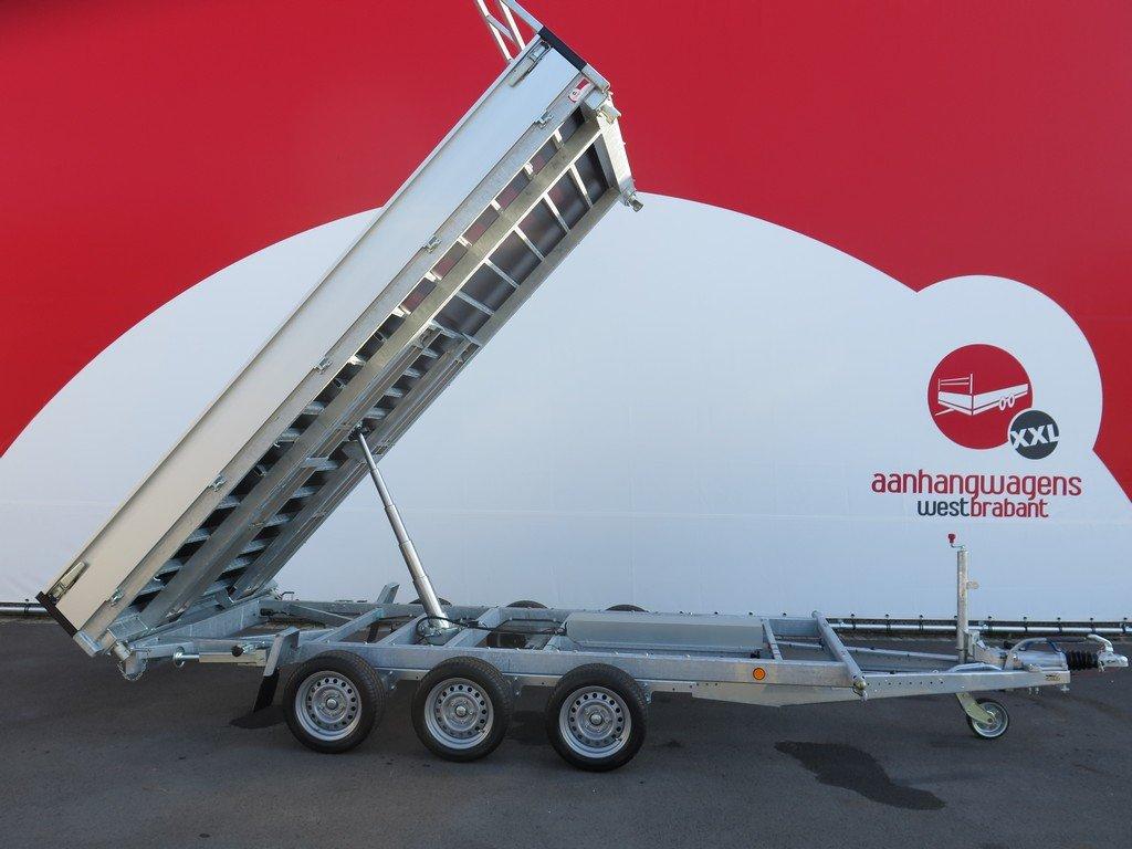 Proline kipper 401x202cm 3500kg tridemas Aanhangwagens XXL West Brabant 2.0 hoofd