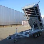 Proline kipper 401x202cm 3500kg tridemas Aanhangwagens XXL West Brabant 2.0 overzicht
