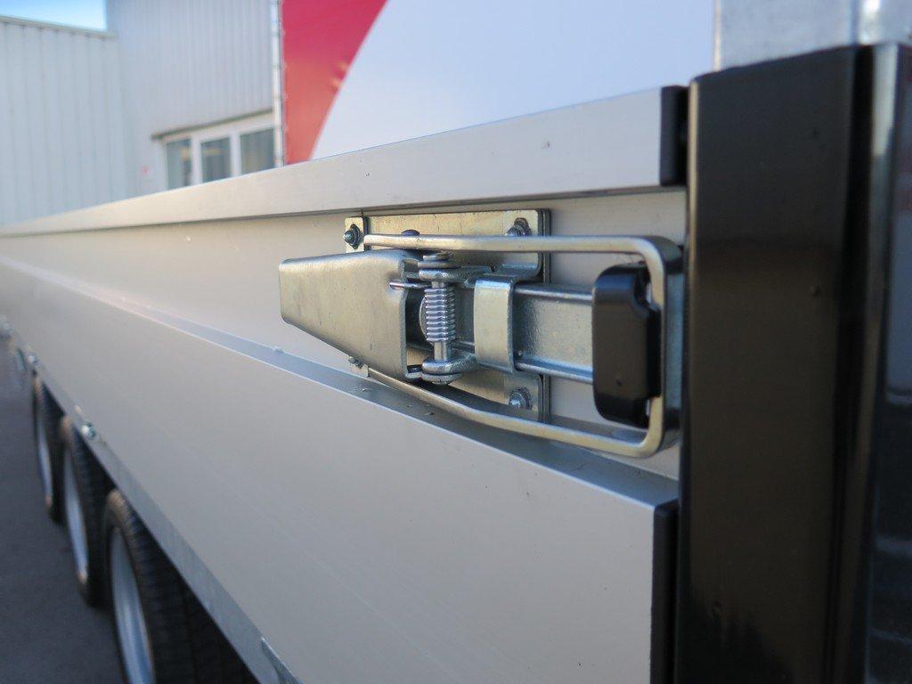 Proline kipper 401x202cm 3500kg tridemas Aanhangwagens XXL West Brabant 2.0 sluitingen