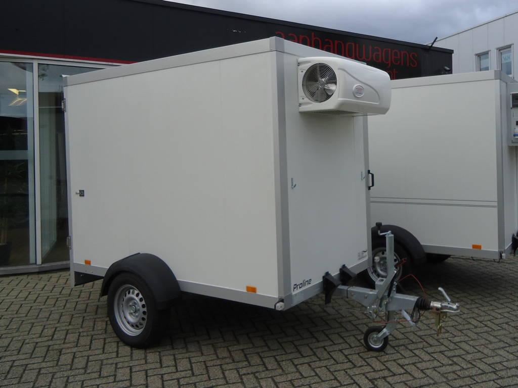 Proline koelaanhanger 250x130x180cm 1400kg Proline koelaanhanger 250x130x180cm koelaanhangwagens Aanhangwagens XXL West Brabant hoofd