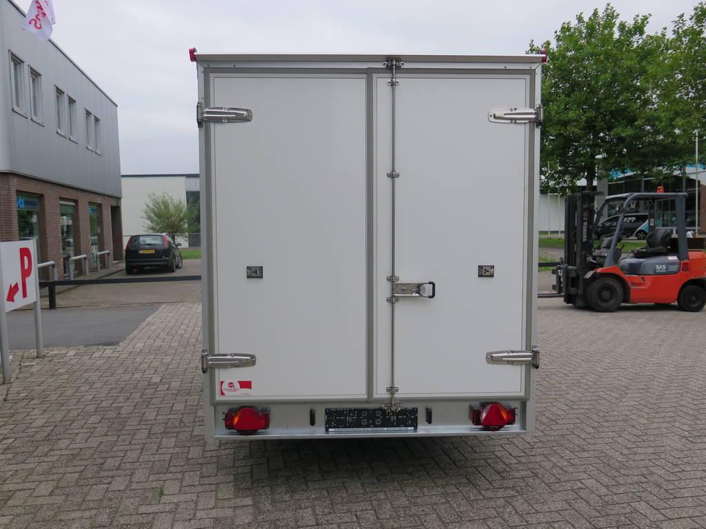 Proline koelaanhanger 400x175x180cm 2500kg Proline koelaanhanger 400x175x180cm koelaanhangwagens Aanhangwagens XXL West Brabant achterkant 2.0