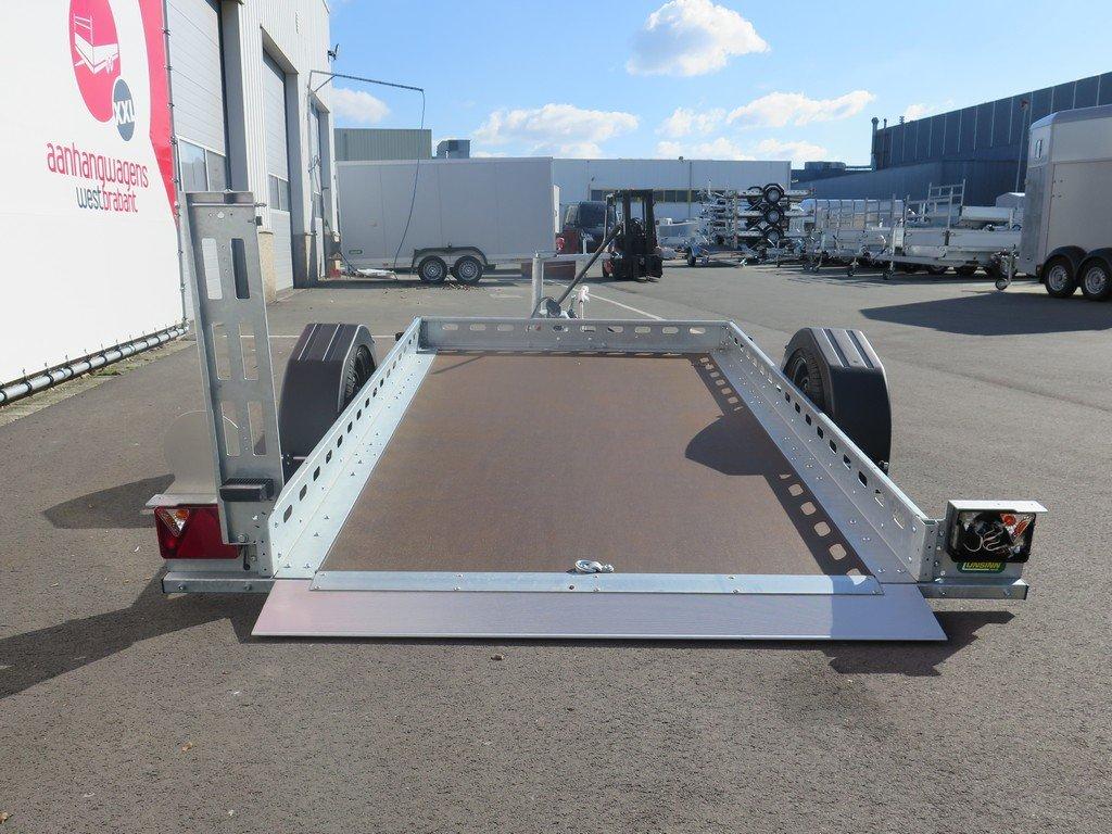 Proline motortrailer 260x155cm 1400kg zakbaar Aanhangwagens XXL West Brabant 3.0 achterkant Aanhangwagens XXL West Brabant