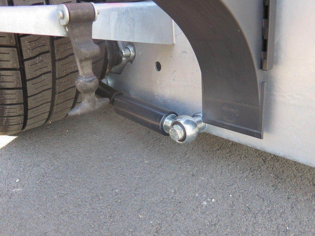 Proline motortrailer 260x155cm 1400kg zakbaar Aanhangwagens XXL West Brabant 3.0 onderstel Aanhangwagens XXL West Brabant