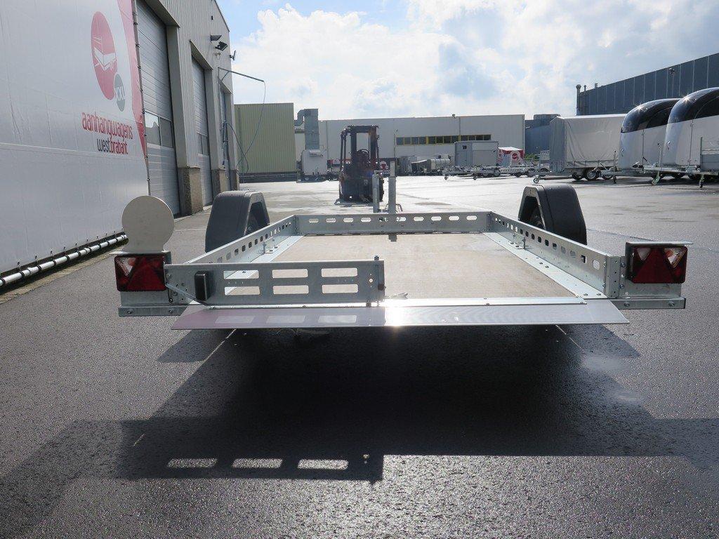 Proline motortrailer 260x155cm 750kg zakbaar Aanhangwagens XXL West Brabant 2.0 achter recht Aanhangwagens XXL West Brabant