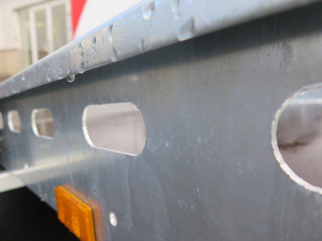 Proline motortrailer 260x155cm 750kg zakbaar Aanhangwagens XXL West Brabant 2.0 bindreling Aanhangwagens XXL West Brabant