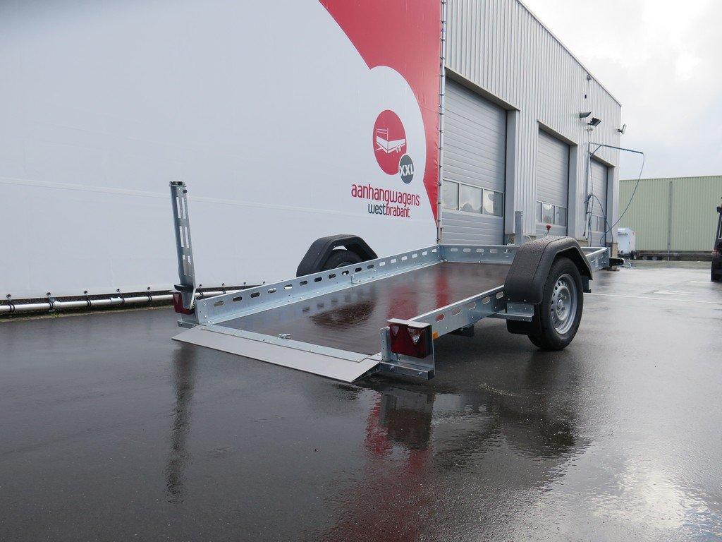 Proline motortrailer 260x155cm 750kg zakbaar Aanhangwagens XXL West Brabant 2.0 oprijden Aanhangwagens XXL West Brabant