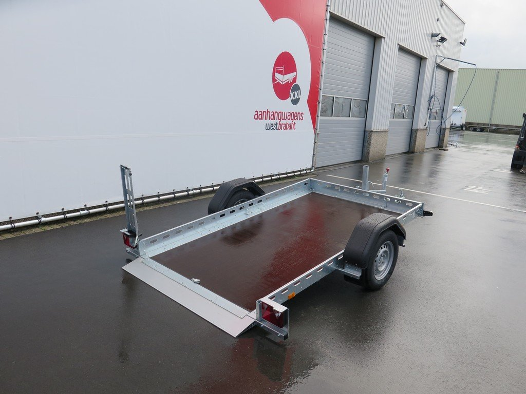 Proline motortrailer 260x155cm 750kg zakbaar Aanhangwagens XXL West Brabant 2.0 vloer Aanhangwagens XXL West Brabant