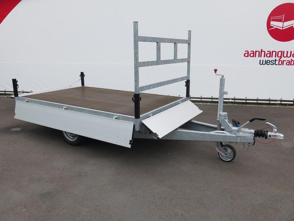 Proline plateauwagen 251x155cm 1350kg Aanhangwagens XXL West Brabant 3.0 volledig vlak Aanhangwagens XXL West Brabant