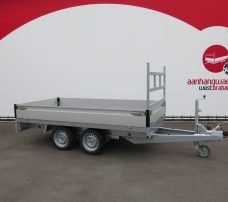 Proline plateauwagen 301x155cm 2000kg Aanhangwagens XXL West Brabant 6.0 hoofd Aanhangwagens XXL West Brabant