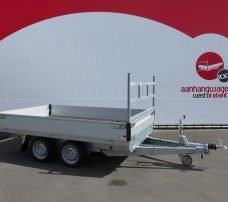 Proline plateauwagen 301x185cm 2700kg verlaagd Aanhangwagens XXL West Brabant 2.0 hoofd Aanhangwagens XXL West Brabant