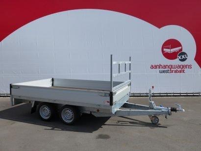 Proline plateauwagen 301x185cm 2700kg verlaagd Aanhangwagens XXL West Brabant 2.0 hoofd