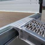 Proline plateauwagen 301x185cm 2700kg verlaagd Aanhangwagens XXL West Brabant 2.0 inhaakprofiel Aanhangwagens XXL West Brabant