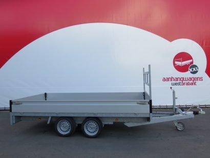 Proline plateauwagen 351x185cm 2700kg Aanhangwagens XXL West Brabant 3.0 hoofd