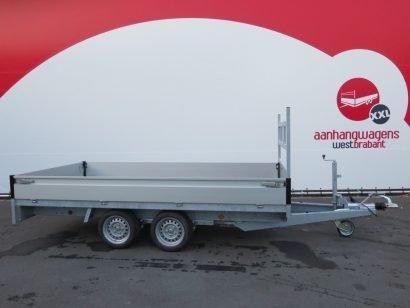 Proline plateauwagen 351x185cm 2700kg verlaagd Aanhangwagens XXL West Brabant 2.0 hoofd