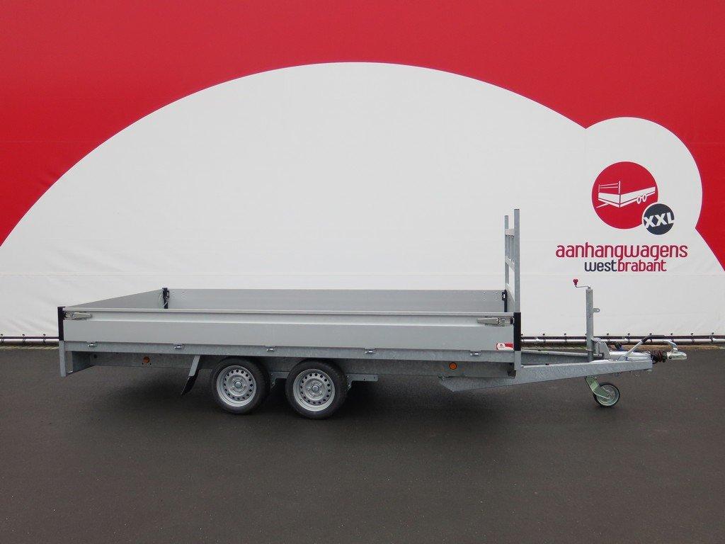 Proline plateauwagen 401x185cm 2700kg verlaagd Aanhangwagens XXL West Brabant 3.0 hoofd