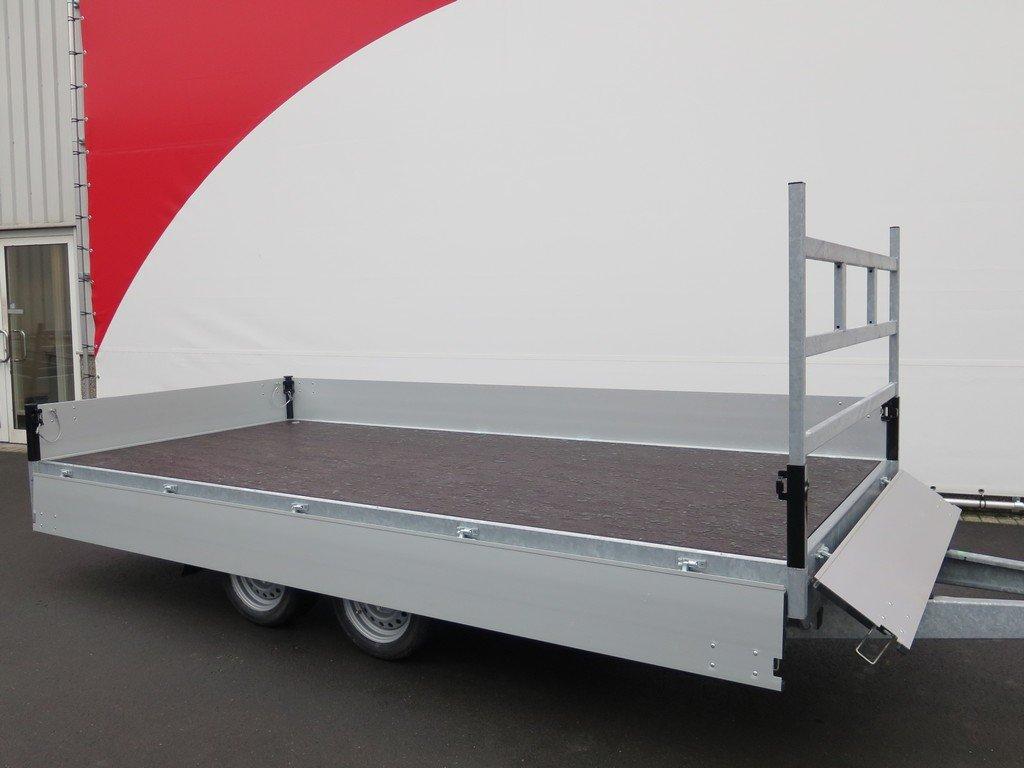 Proline plateauwagen 401x185cm 2700kg verlaagd Aanhangwagens XXL West Brabant 3.0 vlak