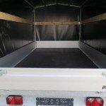 Proline plateauwagen met huif huif aanhangwagen Aanhangwagens XXL West Brabant laadruimte