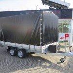 Proline plateauwagen met huif huif aanhangwagen Aanhangwagens XXL West Brabant overzicht