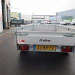 Proline tandemas aanhanger 305x131cm 2000kg alu Aanhangwagens XXL West Brabant 3.0 achter dicht Aanhangwagens XXL West Brabant
