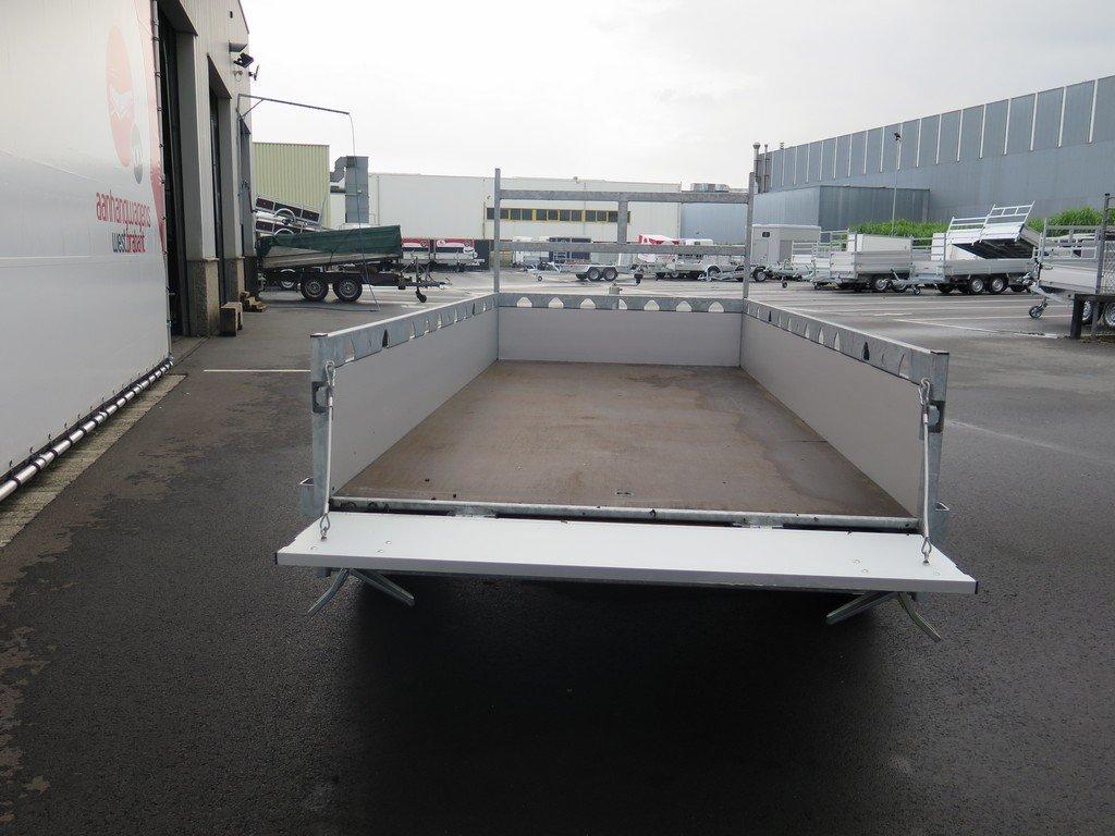 Proline tandemas aanhanger 305x131cm 2000kg alu Aanhangwagens XXL West Brabant 3.0 achter open
