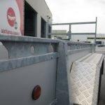 Proline tandemas aanhanger 305x131cm 2000kg alu Aanhangwagens XXL West Brabant 3.0 bindreling Aanhangwagens XXL West Brabant