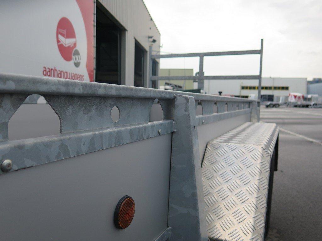 Proline tandemas aanhanger 305x131cm 2000kg alu Aanhangwagens XXL West Brabant 3.0 bindreling