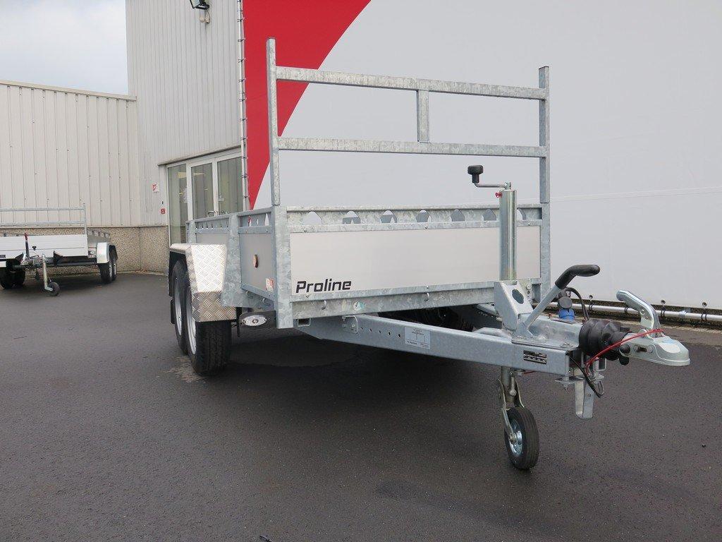 Proline tandemas aanhanger 305x131cm 2000kg alu Aanhangwagens XXL West Brabant 3.0 dissel