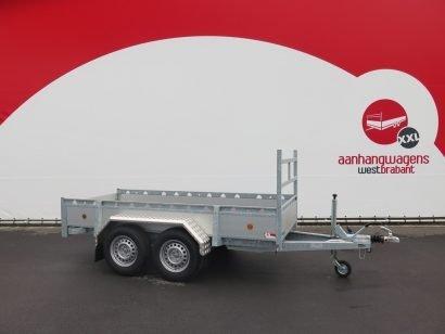 Proline tandemas aanhanger 305x131cm 2000kg alu Aanhangwagens XXL West Brabant 3.0 hoofd