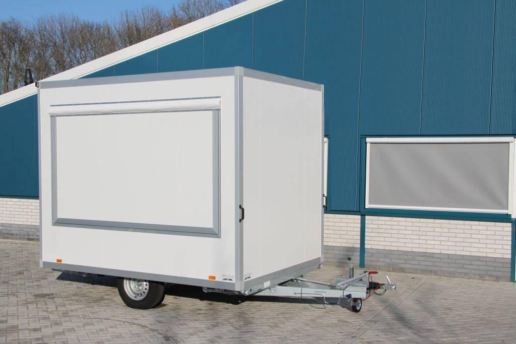 Proline verkoopwagen 294x211x230cm verkoopwagens Aanhangwagens XXL West Brabant hoofd Aanhangwagens XXL West Brabant