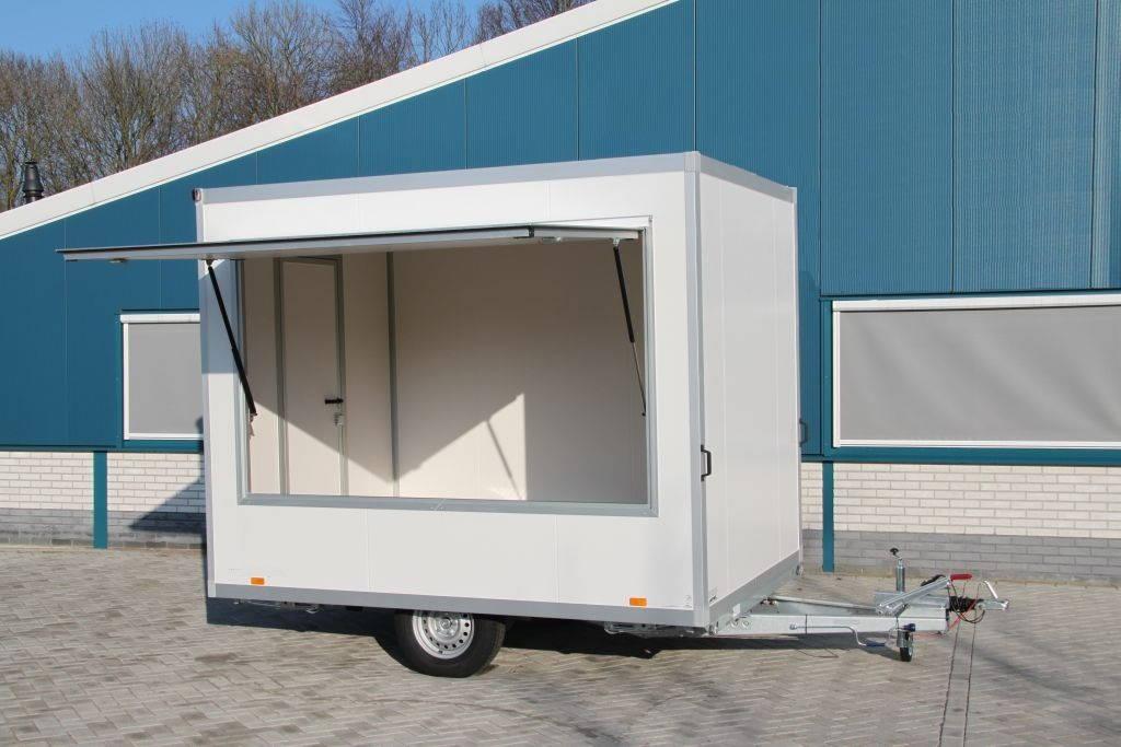 Proline verkoopwagen 294x211x230cm verkoopwagens Aanhangwagens XXL West Brabant overzicht Aanhangwagens XXL West Brabant