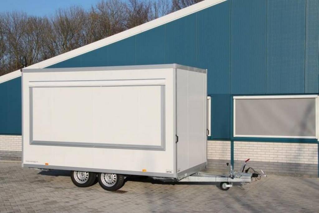 Proline verkoopwagen 397x211x230cm 2000kg Proline verkoopwagen 397x211x230cm 2000kg verkoopwagens Aanhangwagens XXL West Brabant hoofd