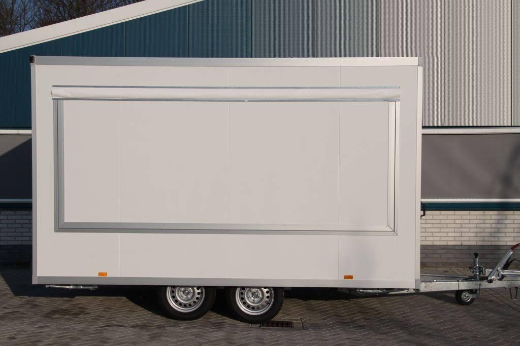 Proline verkoopwagen 397x211x230cm 2000kg Proline verkoopwagen 397x211x230cm 2000kg verkoopwagens Aanhangwagens XXL West Brabant zijkant