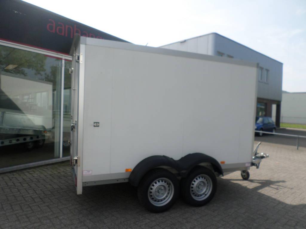 Proline vriesaanhanger 300x146x180cm vriesaanhangwagens Aanhangwagens XXL West Brabant zijkant Aanhangwagens XXL West Brabant