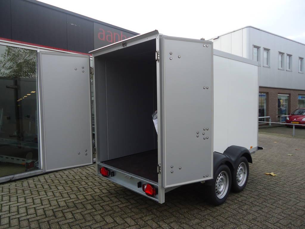 Proline vriesaanhanger 300x160x180cm vriesaanhangwagens Aanhangwagens XXL West Brabant achterdeuren Aanhangwagens XXL West Brabant