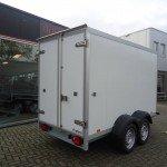Proline vriesaanhanger 300x160x180cm vriesaanhangwagens Aanhangwagens XXL West Brabant achterkant Aanhangwagens XXL West Brabant