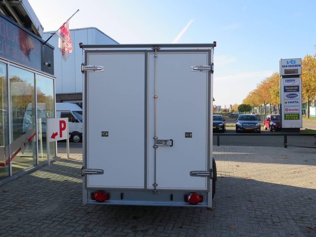 Proline vriesaanhanger 350x160x180cm vriesaanhangwagens Aanhangwagens XXL West Brabant achterkant