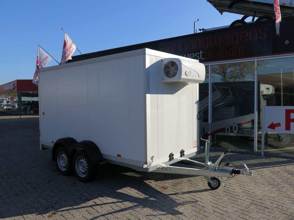 Proline vriesaanhanger 350x160x180cm vriesaanhangwagens Aanhangwagens XXL West Brabant hoofd