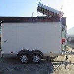 Proline vriesaanhanger 350x160x180cm vriesaanhangwagens Aanhangwagens XXL West Brabant zijkant