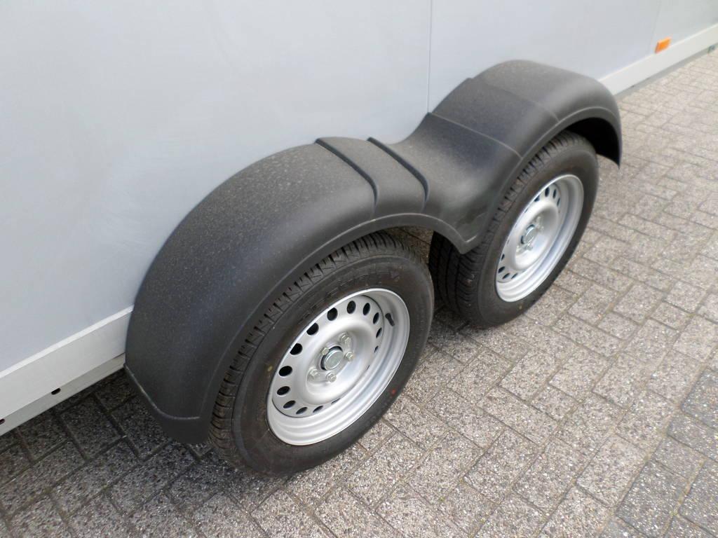 Proline vriesaanhanger 400x175x180cm vriesaanhangwagens Aanhangwagens XXL West Brabant dubbele as Aanhangwagens XXL West Brabant