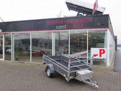 Saris enkelas DV75 256x134cm bakwagens enkelas Aanhangwagens XXL West Brabant hoofd 2.0