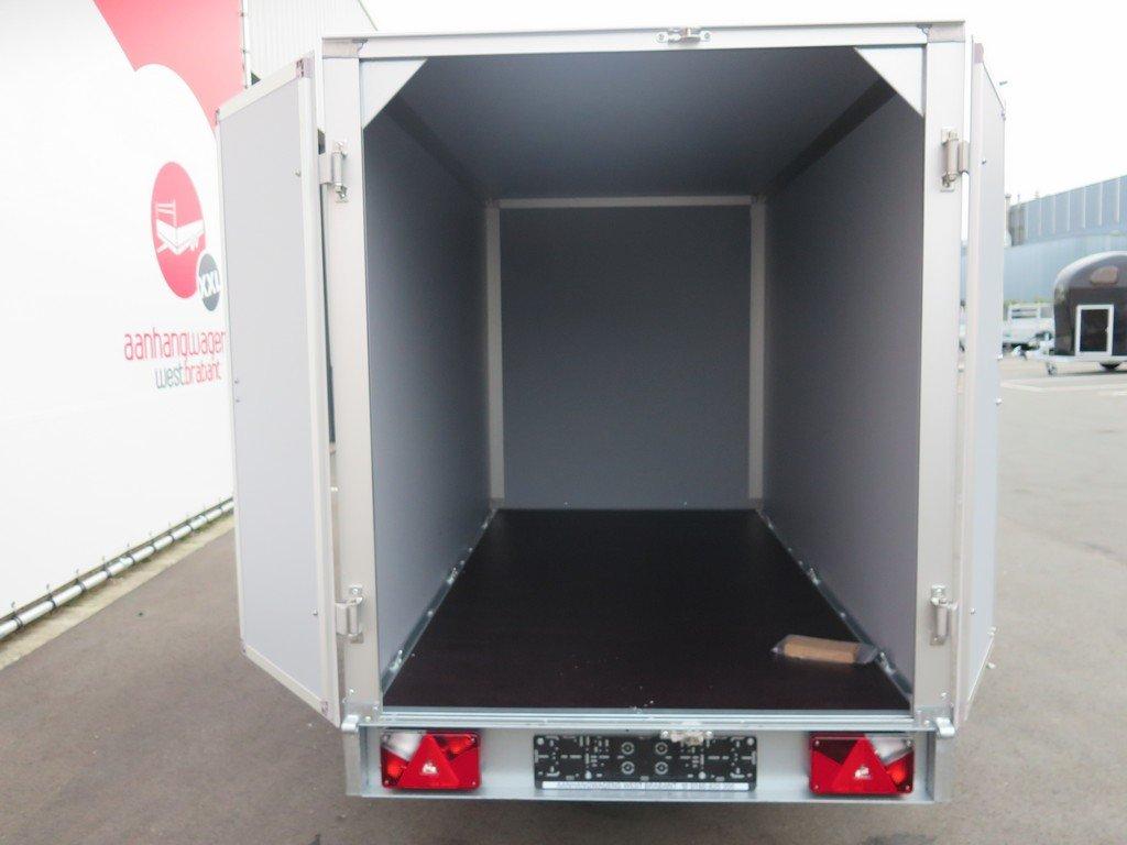 Saris gesloten aanhanger 256x134x150cm 1350kg Aanhangwagens XXL West Brabant 2.0 achter open Aanhangwagens XXL West Brabant