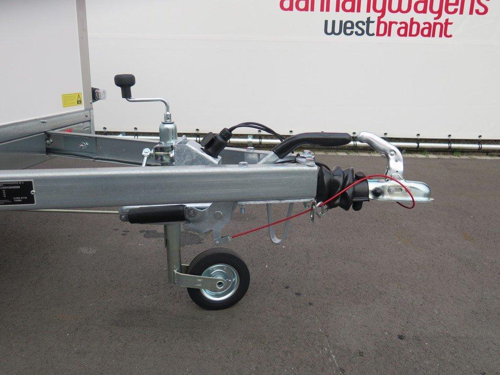 Saris gesloten aanhanger 256x134x150cm 1350kg Aanhangwagens XXL West Brabant 2.0 dissel Aanhangwagens XXL West Brabant