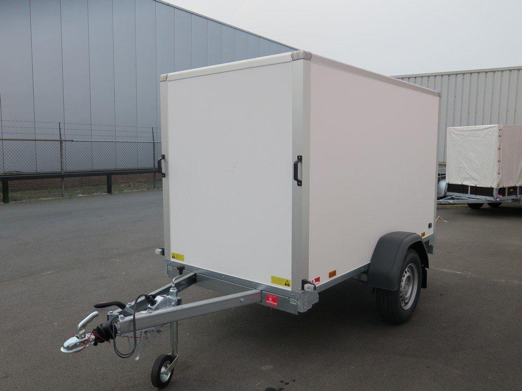 Saris gesloten aanhanger 256x134x150cm 1350kg Aanhangwagens XXL West Brabant 2.0 overzicht Aanhangwagens XXL West Brabant