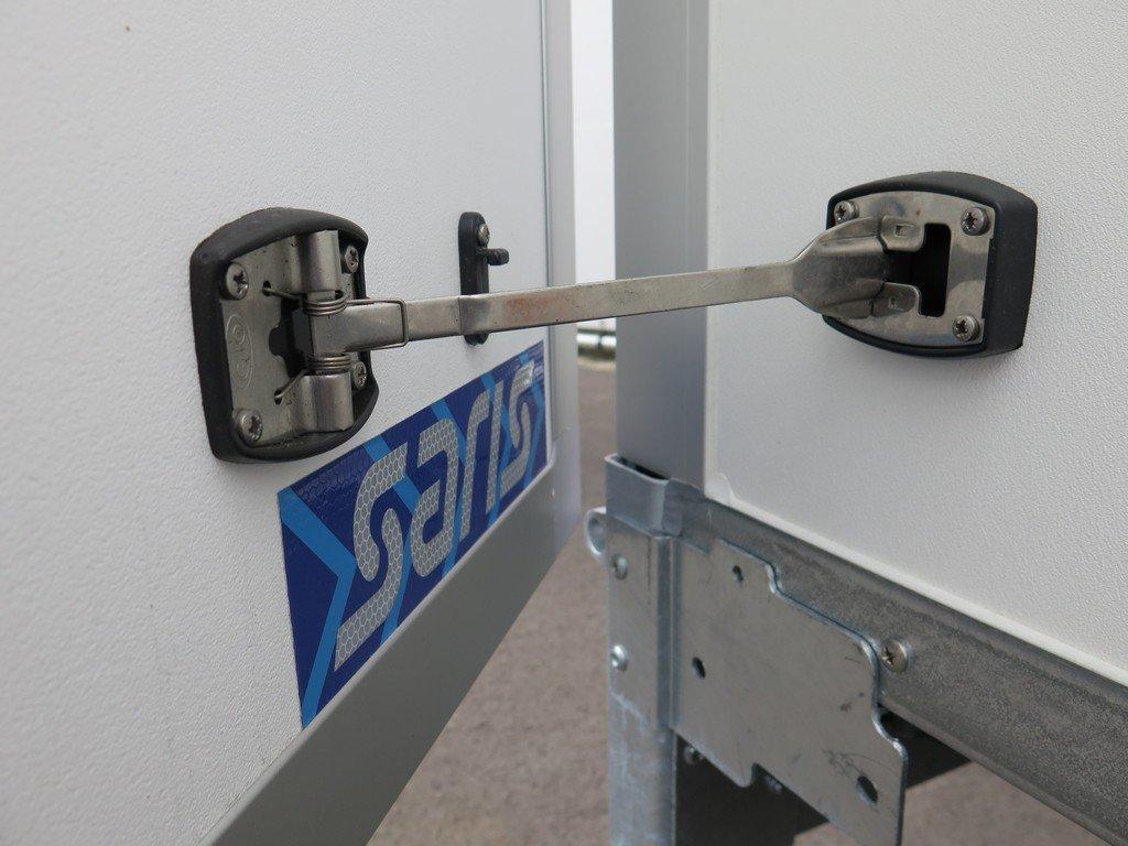 Saris gesloten aanhanger 306x154x180cm 2000kg Aanhangwagens XXL West Brabant 2.0 deurvastzetsysteem