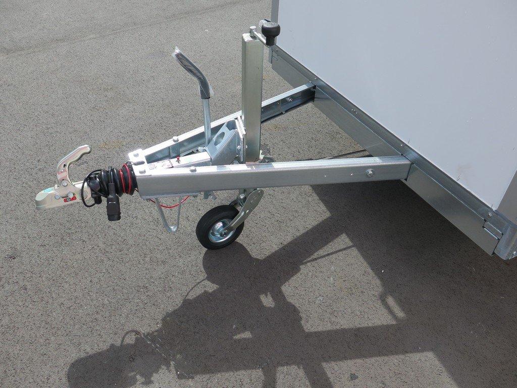 Saris gesloten aanhanger 306x154x180cm 2000kg Aanhangwagens XXL West Brabant 2.0 dissel