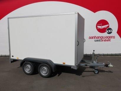 Saris gesloten aanhanger 306x154x180cm 2000kg Aanhangwagens XXL West Brabant 2.0 hoofd