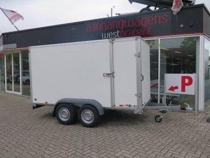Saris gesloten aanhanger 356x169x180cm 2700kg Aanhangwagens XXL West Brabant 2.0 hoofd