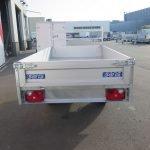Saris kipper 255x135cm 1400kg Aanhangwagens XXL West Brabant 2.0 achter dicht