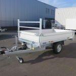 Saris kipper 255x135cm 1400kg Aanhangwagens XXL West Brabant 2.0 overzicht vlak