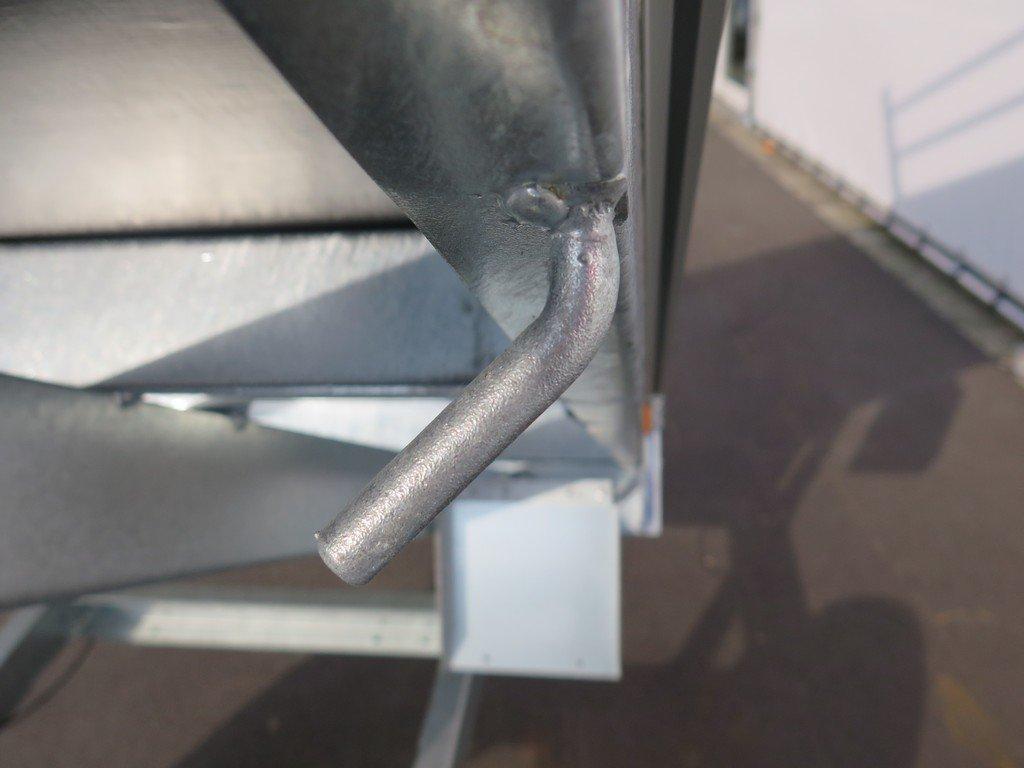 Saris kipper 255x135cm 1400kg Aanhangwagens XXL West Brabant 2.0 touwhaken